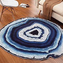 Longshien-Teppich Runde Kreative Persönlichkeit Mode Kreative Matten Türmatten ( größe : 200CM )