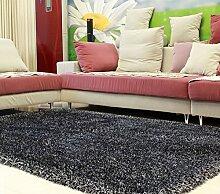 Longshien-Teppich Stretch lange Haare Schlafzimmer Wohnzimmer Sofa Couchtisch Teppich Türmatten ( Farbe : 8 )