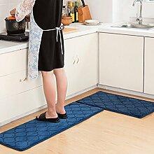 Longshien-Teppich Teppich Tür Küche Badezimmer mit Schlafzimmer Sliver Pad Kind Badezimmer Türmatten Badematten Türmatten ( Farbe : C , größe : 50*80+40*120 )