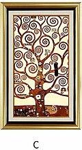 Longwei Wandmalerei-Geldbaum europäisches