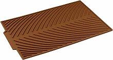 LongYu Antirutschmatte Silikagel Zusammenlegbarer Ablauf Drainage-Pad Wasserfilter-Pad Multifunktions-Isolations-Topf-Pad Becher-Pad 4 in einem (Color : E)