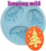 longzang Mini Weihnachtsbaum F0003Fondant Form