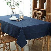 Longzhi Continental einfache Tabellen Baumwolle Tischdecken Tischdecken D 130 * 213 Tischdecke
