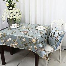 Longzhi im Europäischen Stil, Luxus Tuch Tuch Kaffee Tisch Tischdecke Tischdecke C 220 * 220 Cm