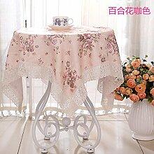 Longzhi Rechteckige Tischdecke idyllische Tischdecken Nachttische Neue ICH 110*110 Handtuch