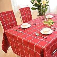 Longzhi reine Baumwolle Tischdecke Tischdecke Tischdecke Kaffee Tischdecke 140 * 140 Cm