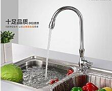 LongZi Sakura einzelnen Wasserbecken Wasserhahn ein kaltes Gericht Waschbecken Wasserhahn faucet Kitchen Sink faucet tippen Sie auf schnelle Abrechnung, kleine Vase
