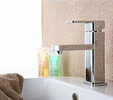 LongZI Waschtisch Armatur Waschbecken im Badezimmer Schrank Waschbecken abgerundete Einloch heiß und kalt - Aufstockung der Zhejiang und Shanghai Großhandel Paket, alle verkupferung niedrig)