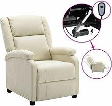 Longziming - Elektrischer Relaxsessel Weiß