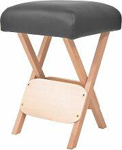 Longziming - Massage-Klapphocker mit 12 cm Dickem