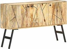Longziming - Sideboard 118 x 30 x 75 cm Massivholz