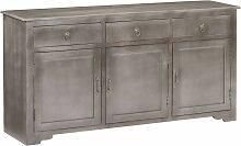 Longziming - Sideboard Grau 160 x 40 x 80 cm