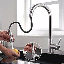 Lonheo Edelstahl Wasserhahn Küche ausziehbar mit
