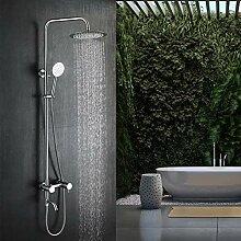 Lonheo Thermostat Duschsystem Höhenverstellbare
