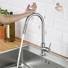 Lonheo Touch Sensor Wasserhahn Küche ausziehbar