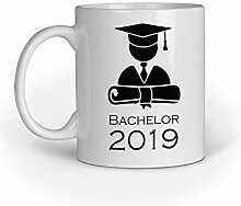 Loomiloo Bachelor 2019 Tasse Tassen Kaffeebecher