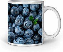 Loomiloo Tasse Blaubeeren Tassen Kaffeebecher