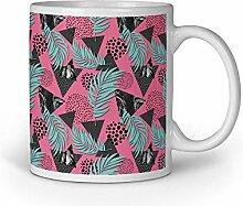 Loomiloo Tasse Dreieck Blätter Punkte Tassen