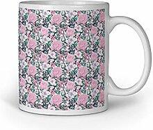 Loomiloo Tasse Pastel Roses Rosen Tassen