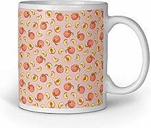 Loomiloo Tasse Pfirsisch Peach Orange Tassen