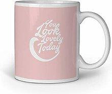Loomiloo Tasse Tassen Kaffeebecher Kaffeetasse You
