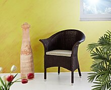 Loomsessel Loungesessel in Kolonial Clubsessel Stuhl
