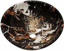 Lordear rundes Gefäß, 40,6 x 40,6 cm, moderne