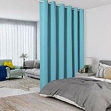 Lordtex Raumteiler-Vorhänge in Blaugrün –