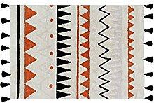 Lorena Canals Aztec waschbar Natur Teppich,