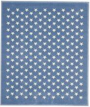 Lorena Canals Kinderteppich STERNENHIMMEL, hellblau, 120x160cm