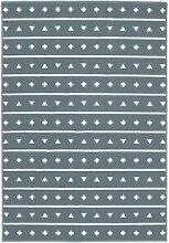 Lorena Canals Teppich Muster, Acryl, Aqua, 140x