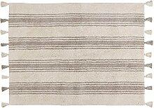 Lorena Canals Teppich Streifen Waschbar,