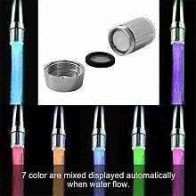 Lorenlli 7 Farben Einzigartiges LED-Licht Wasser