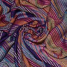 Lorenzo Cana Luxus Wolldecke aufwändig qacquard
