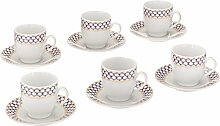 LORENZO Import Design Espresso-Set (Service für