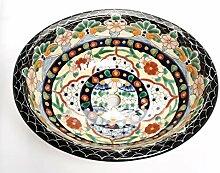 Loretta - Mexikanisches Ovales Waschbecken | Oval