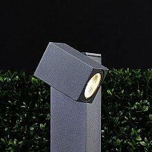 Lorik - LED-Wegeleuchte mit flexiblem Kopf