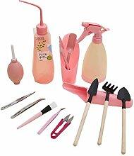 Lorsoul 15PCS / Set Mini Gartenhandwerkzeuge