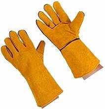 Lorsoul Schweißen Handschuhe Handschutz Leder