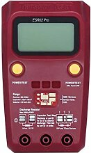 Lorsoul Transistor SMD Komponenten Digital Tester,