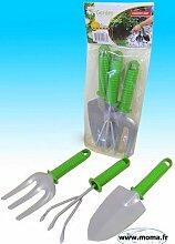 Los von 3 - Set von 3 Gartengeräte Grip` `Einfach - Qualität COOLMINIPRIX®