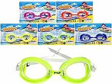 LOT DE 6–Schwimmbrille Kinder verschiedene Farben–Qualität coolminiprix®