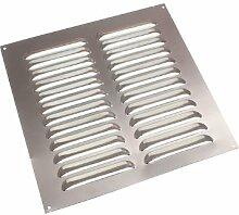 Lot Of 20 Aluminium Louvre Air Vent Ventilator Grille Cover 9 X 9 X 225mm 225mm