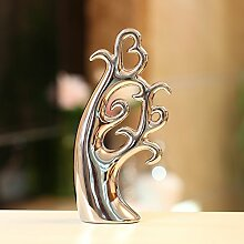 Lotefong Das Wohnzimmer Dekoration Basteln Schmuck Tv Cabinet Cabinet Dekoration Silver Love Tree