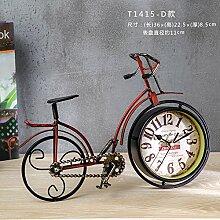 Lotefong Die Amerikanischen Haushalte Fahrrad Uhr Tv - Kabinett Schreibtisch Bücherregal Süß - Dekoration?,Ziffer T1415-D