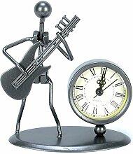 Lotefong Europäische Eisen - Musik Uhr Uhr Uhr Uhr Taiwan Kreative Wohnzimmer Dekoration Und Schweigen,C 68