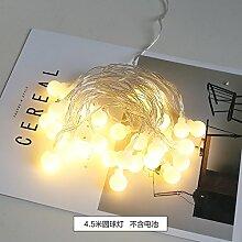 Lotefong Foto: Foto - Wand - Wand - Clip Foto - Wand Dekoration Rack Ins Kreative Persönlichkeit,4,5 Meter Ball Lampe