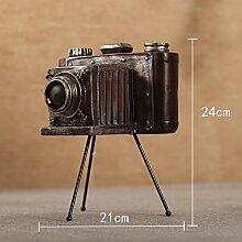 Lotefong Retro Camera Model Bar Dekoration Handwerk Kreative Schaufenster Der Amerikanischen Soft Dekoration Auf Requisiten,B Die Kamera