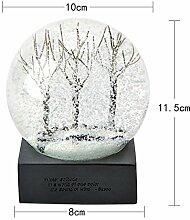 Lotefong Vier Jahreszeiten Schnee Crystal Ball Set Das Wohnzimmer Accessoires Heimtextilien Schmuck Geschenke zum Valentinstag, Four Seasons Crystal Ball Winter