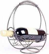 Lotefong Weinregale Home Dekoration Metall Heimtextilien weichen Wein Wein Rack Familie Ornamente Restaurant Wine Rack, JJ001